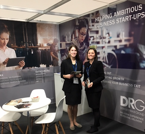 The DRG team at the Women-in-Business Expo