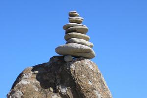 Rock Stacks at Cape Conran. Photo by Deb Milligan