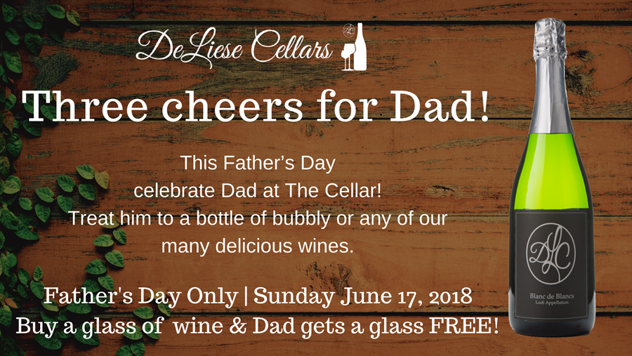 Father's Day at The Cellar!
