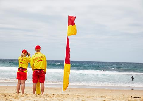 Surf Lifesavers Urge Holiday Caution