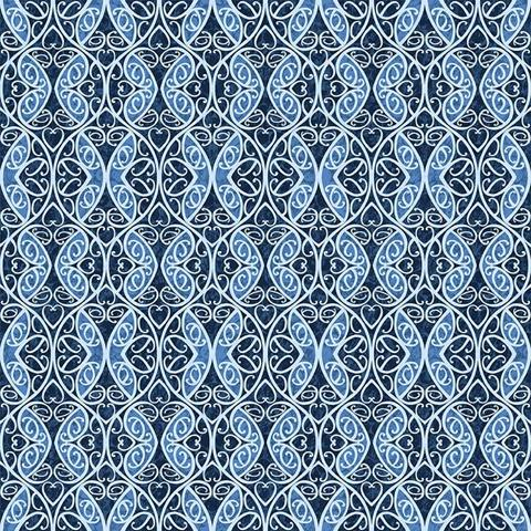 Once in a Blue Mood at Cary Quilting Company