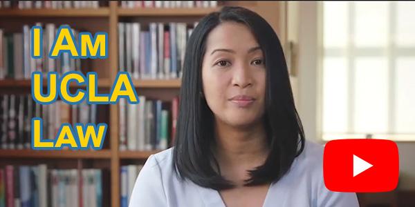Video still from I Am UCLA Law with Katrina Landeta