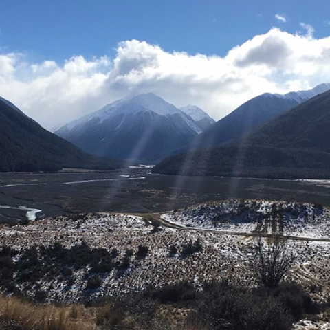 Canterbury Aoraki Conservation Board field trip – Arthur's Pass National Park.  Photo: Marie-Louise Grandiek
