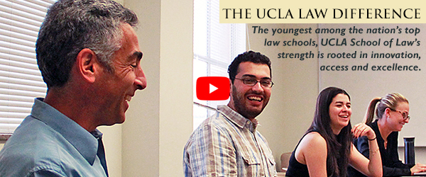"Watch ""The UCLA Law Difference"""
