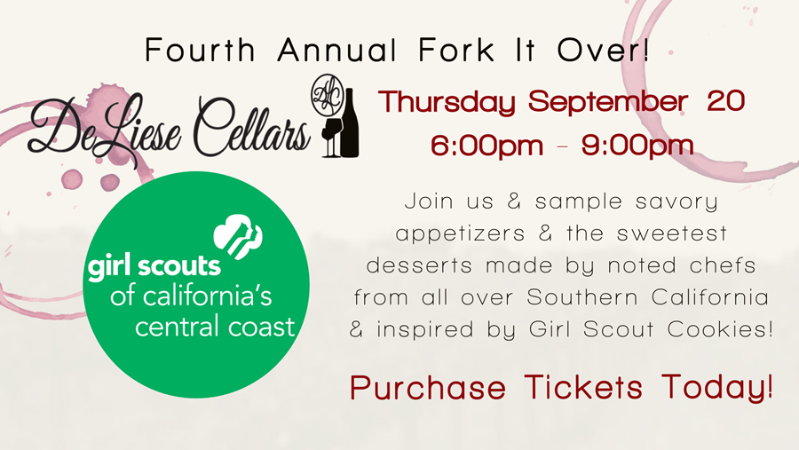 Girl Scouts Fourth Annual Fork It Over!