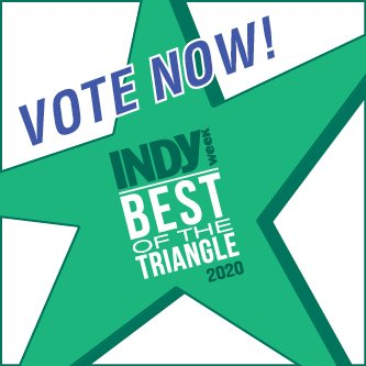 Vote for us - Best of the Triangle!