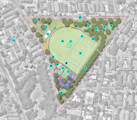 Belmore Park Masterplan