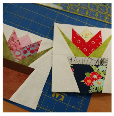 Paper Piecing with Rosi