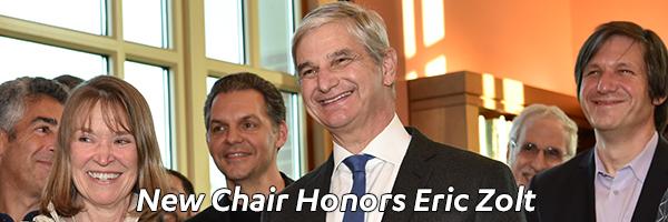 New Eric Zolt Endowed Chair
