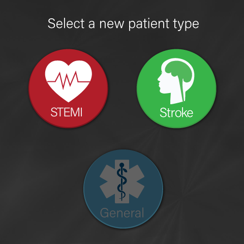 Grayed out General Patient Screen