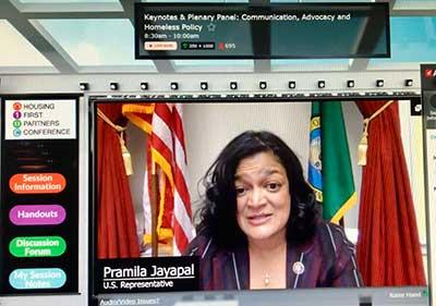 US Representative Pramila Jayapal