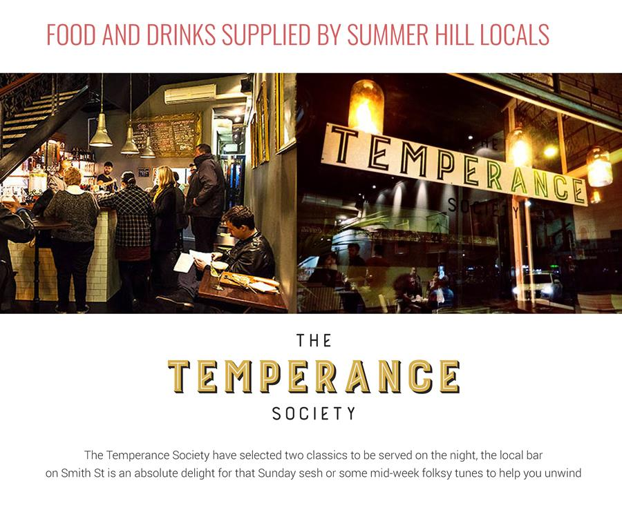 The Temperance Society Bar