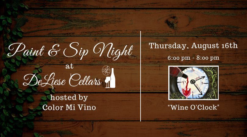 Paint & Sip Night with Color Mi Vino