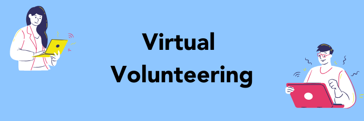 Image: Virtual Volunteering