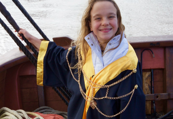 Junior Lord Mayor Claire McDaniel