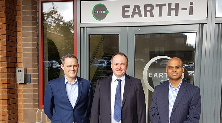 Image of Gary, John and Chetan. New appointments to the Earth-i team.