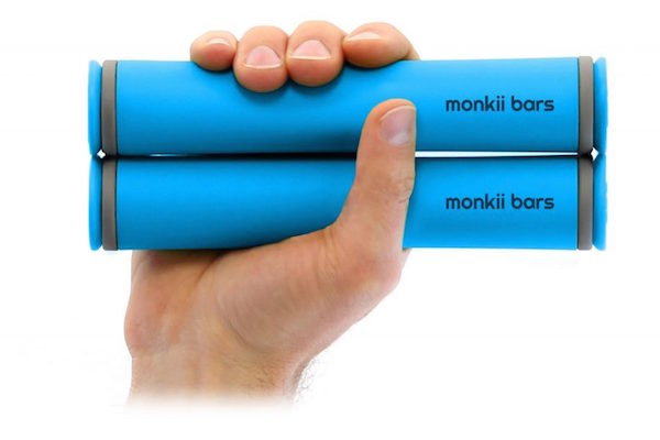 MONKII BARS 2, A WORKOUT THAT FITS IN A POCKET, RAISED MILLIONS IN CROWDFUNDING