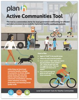 Cover of the Active Communities Tool.
