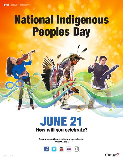 National Indigenous Peoples Day is June 21