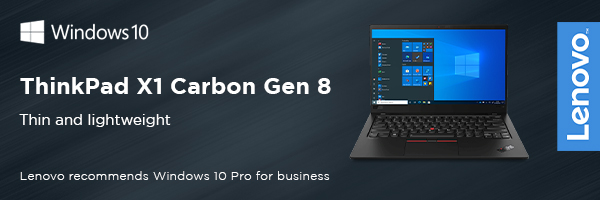 Premium performance and mobility with ThinkPad X1 Carbon 8