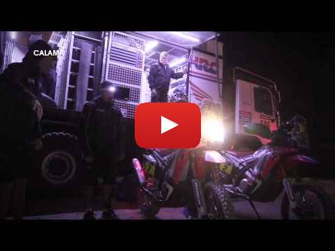 Team HRC Rally Dakar 2015 - Stage 10 - Behind the Scenes