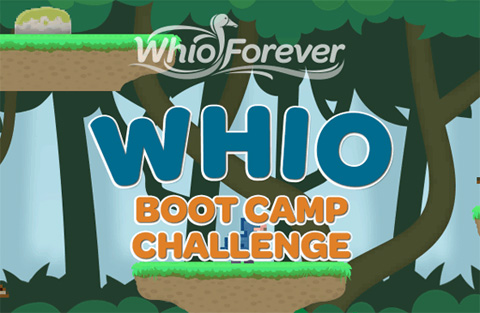 Screenshot of Whio Boot Camp game