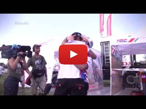 Team HRC Dakar Rally 2015 - Stage 12 - Behind the Scenes