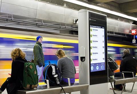 CIVIQ WayPoints in NYC's Newest Subway Line