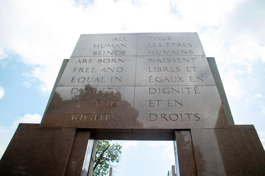 Human Rights Monument, Ottawa (photo credit: Anna Vogt)