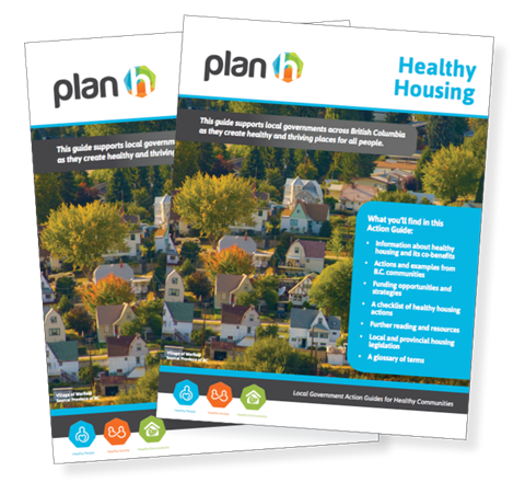 The cover of the PlanH Healthy Housing Action Guide