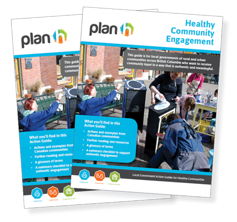 The cover of the Healthy Community Engagement Action Guide