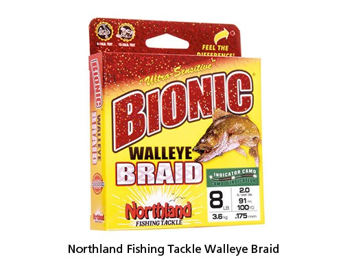 Northland Fishing Tackle Walleye Braid