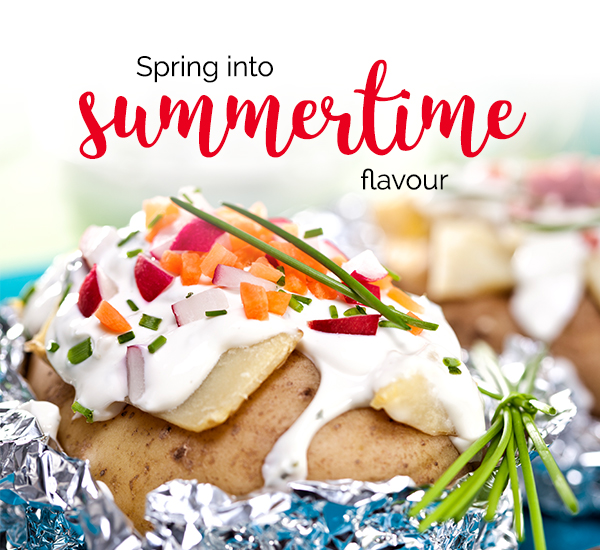 Spring into summertime flavour.