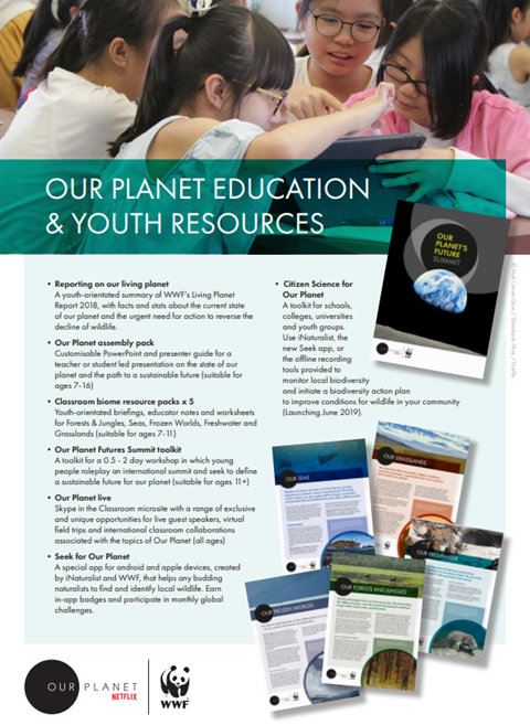 Our Planet Educators' Pack