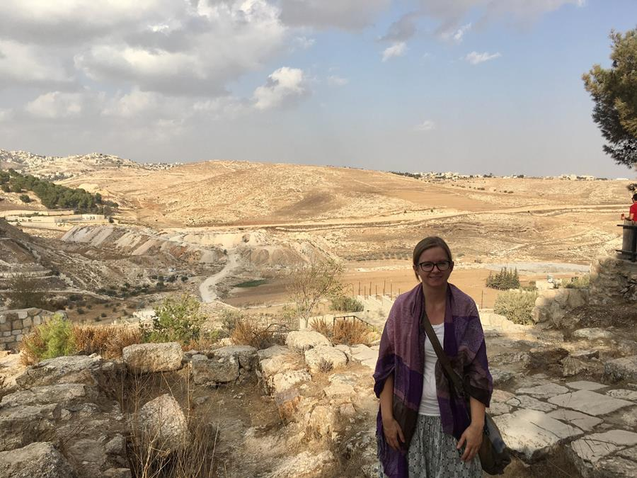 Leona Lortie on Palestine and Israel learning tour
