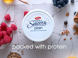 Picture of: Nordica Smooth Plain Cottage Cheese