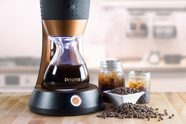 PRISMA PROMISES COLD BREW COFFEE IN 10 MINUTES OR LESS