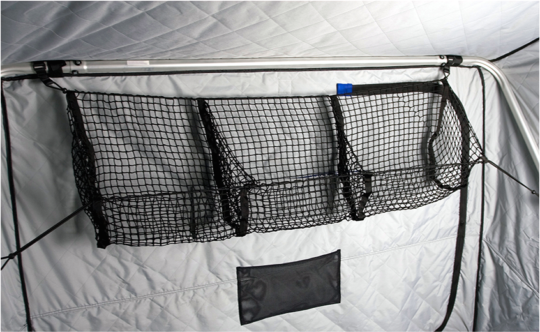 3-pocket cargo net