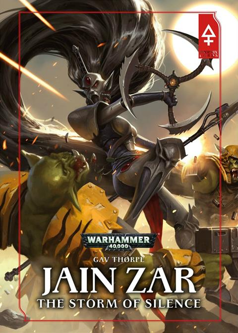 Cover of Jain Zar: The Storm of Silence by Gav Thorpe