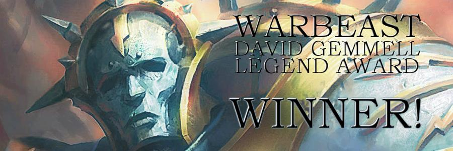 Warbeast won the David Gemmell Legend Award for Best Fantasy Novel