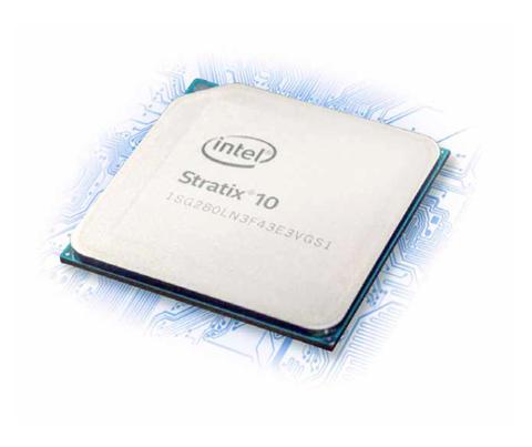 Intel Stratix 10 FPGA PCIe Board from BittWare