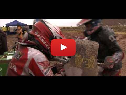 Team HRC Dakar Rally 2015 - Stage 8