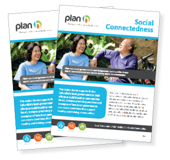 The report cover for the social connectedness action guide
