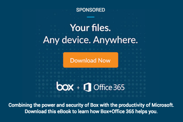 BOX+O365. WORK BETTER.