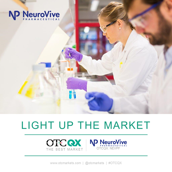 NeuroVive Pharmaceutical AB (OTCQX: NEVPF)