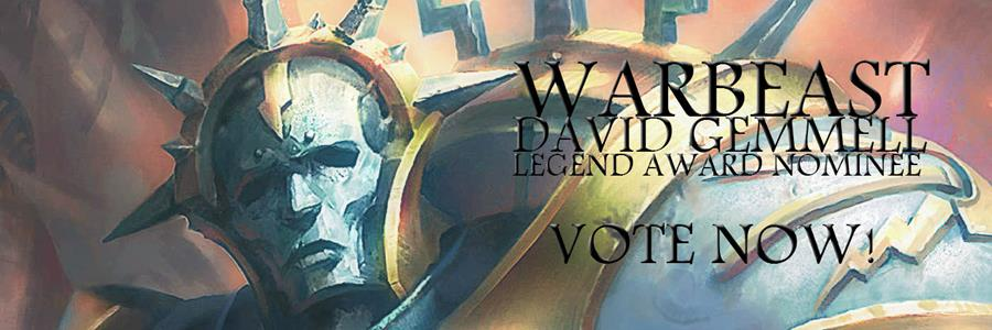 Vote for Warbeast in the David Gemmell Awards