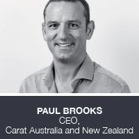 Paul Brooks, CEO, Carat Australia and New Zealand