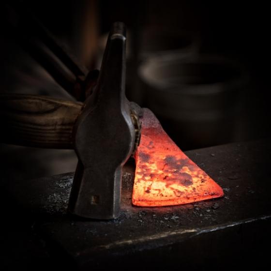 Axe Forging Workshop