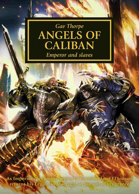 Cover of Angels of Caliban by Gav Thorpe