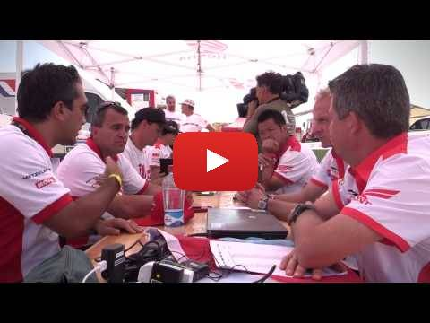 Team HRC Dakar Rally Rest Day - Behind the Scenes